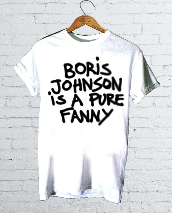 Image of Boris Johnson T-Shirt