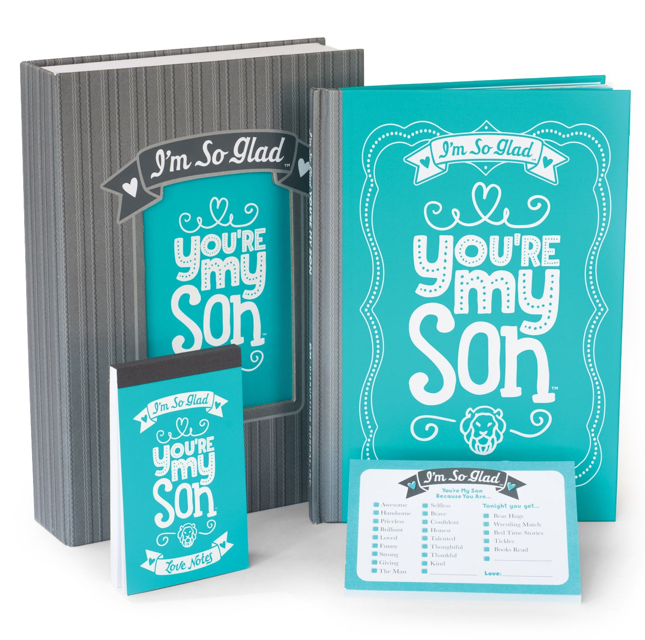 I'm So Glad You're My Son Gift Set