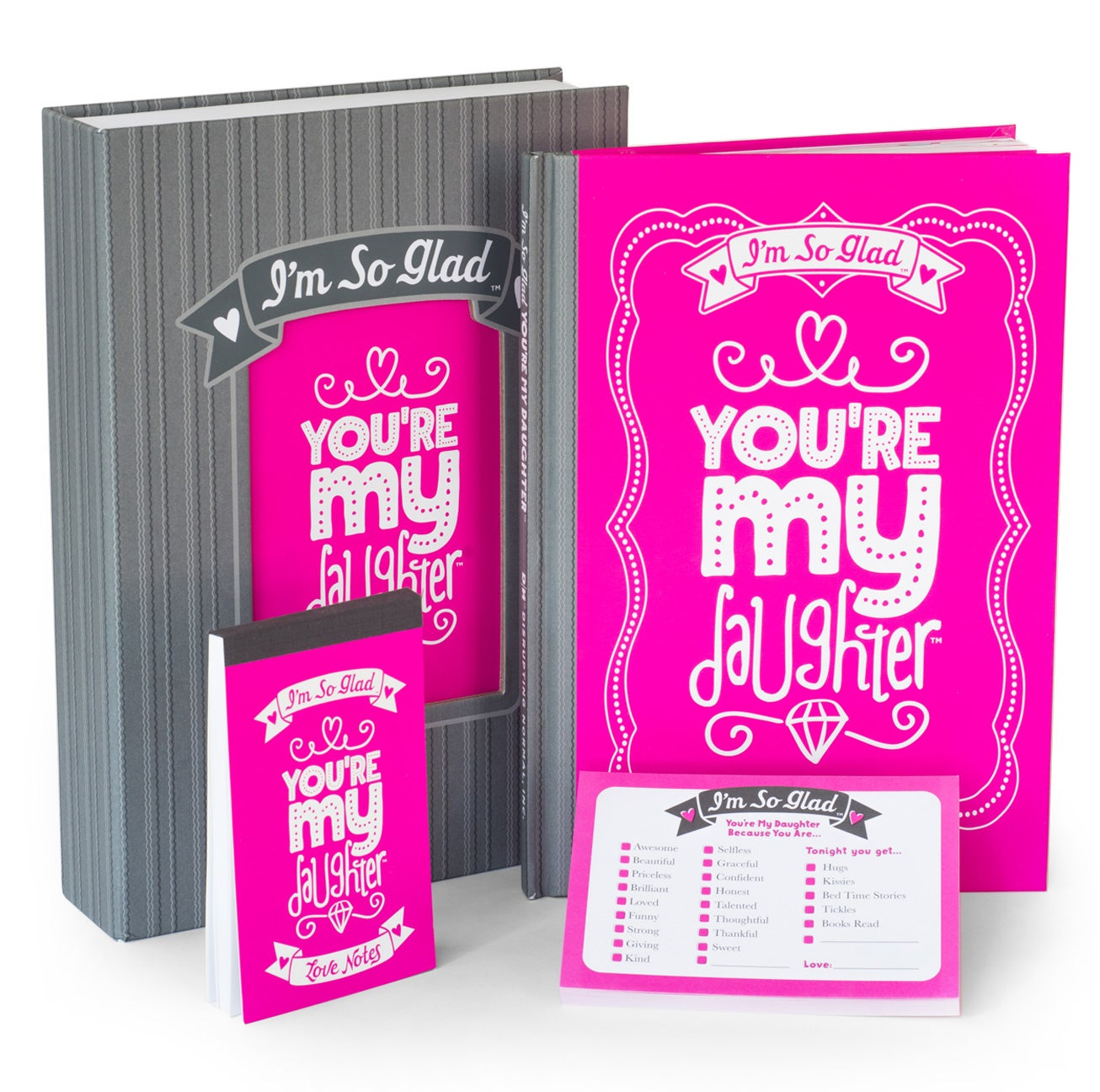 I'm So Glad You're My Daughter Gift Set