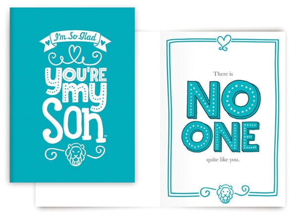 NO ONE QUITE LIKE YOU CARD (SON)
