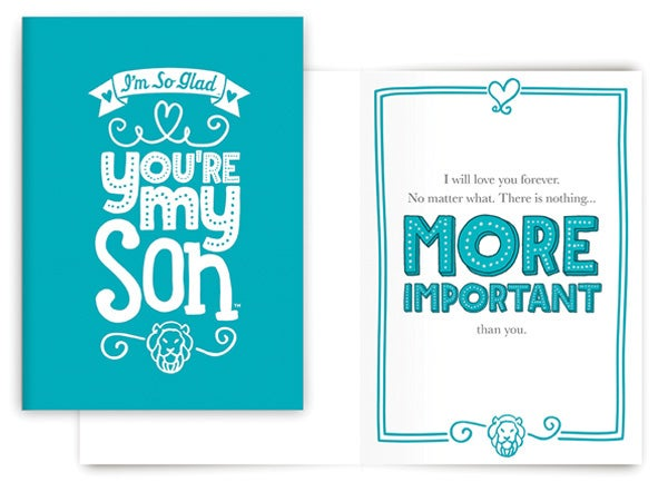 NOTHING MORE IMPORTANT CARD (SON)
