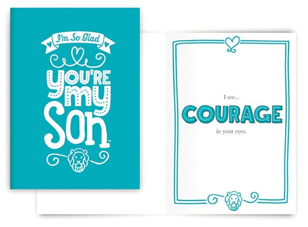 COURAGE CARD (SON)