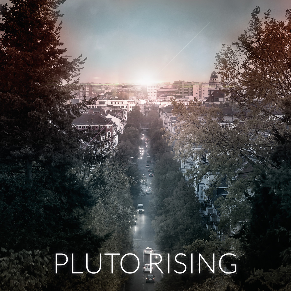 "Image of Debut album ""Pluto Rising"""