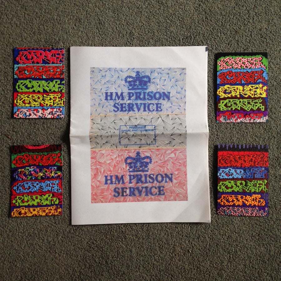 Image of Prison Drawing Zine