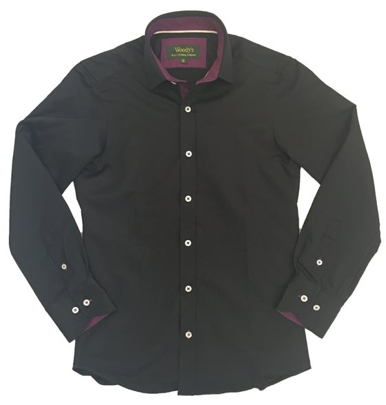 Image of Black w/Purple Party Shirt