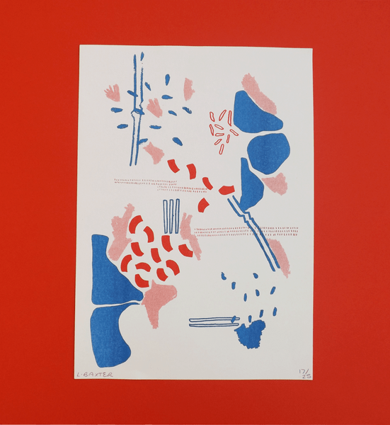 Image of A4 Risograph Print