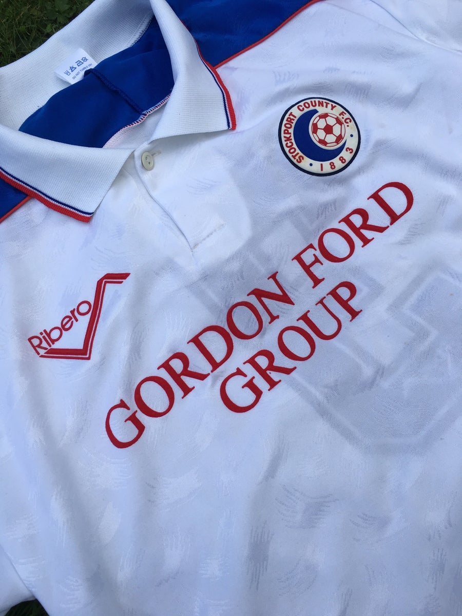 Image of Match Worn 1990/91 Home Shirt