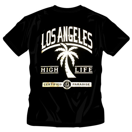 Image of LOS ANGELES  - HIGH LIFE T-SHIRT