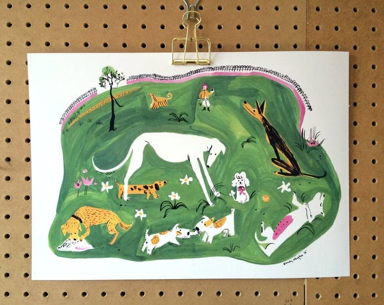 Image of Dog Park Print
