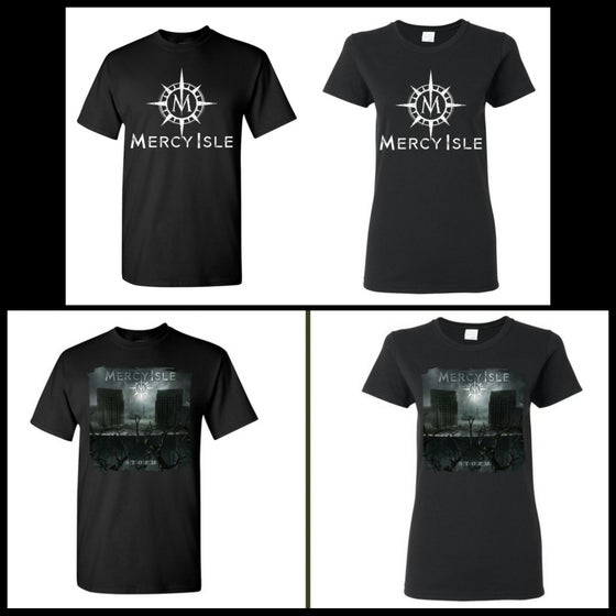 Image of Previous release T-shirts