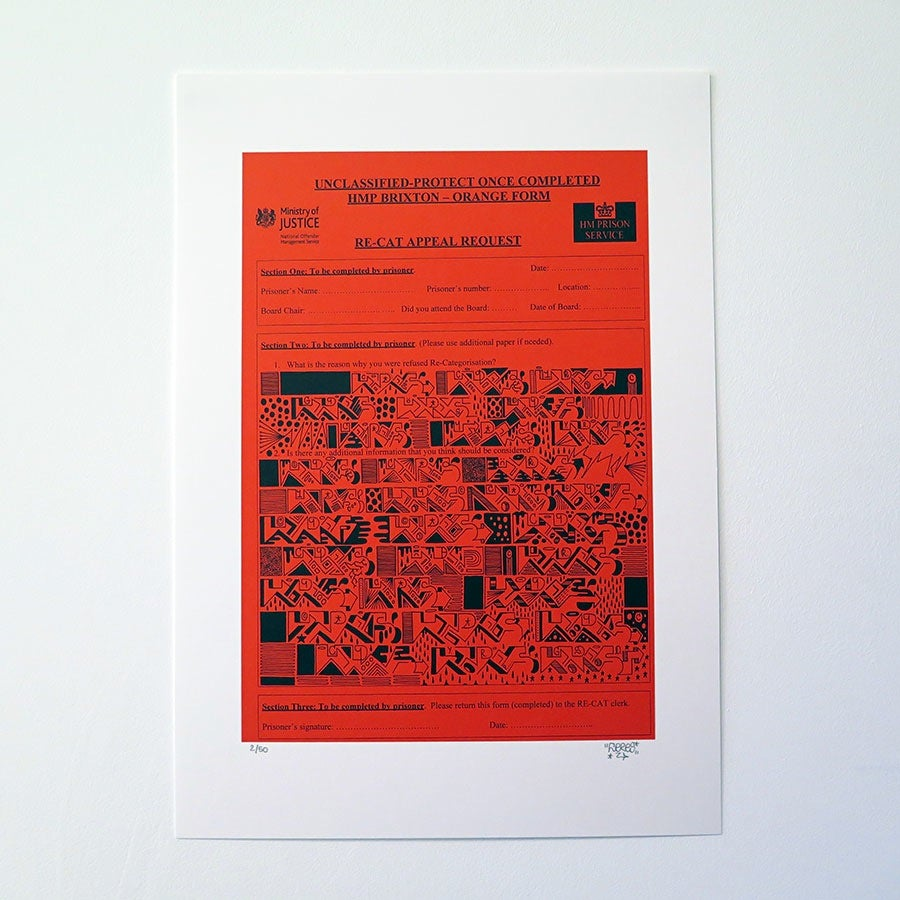Image of HMP Brixton Prison Form Prints