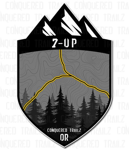 "Image of ""7-Up"" Trail Badge"