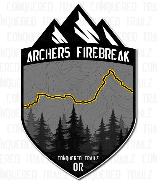"Image of ""Archers Firebreak"" Trail Badge"