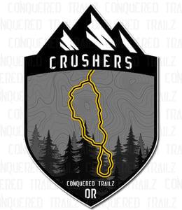 "Image of ""Crushers"" Trail Badge"