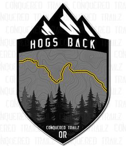 "Image of ""Hogs Back"" Trail Badge"