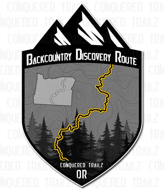 "Image of Oregon ""Backcountry Discovery Route"" Badge"