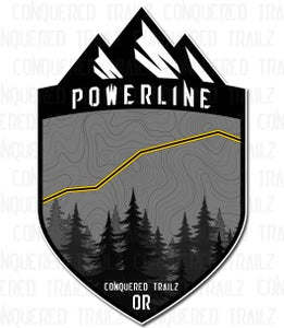 "Image of ""Powerline"" (Oregon) Trail Badge"