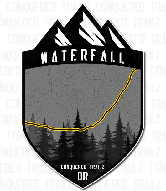 "Image of ""Waterfall"" Trail Badge"