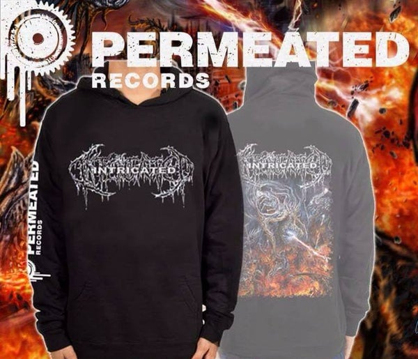 Image of Intricated - Vortex of Fatal Depravity - album art Hoodie - Preorder