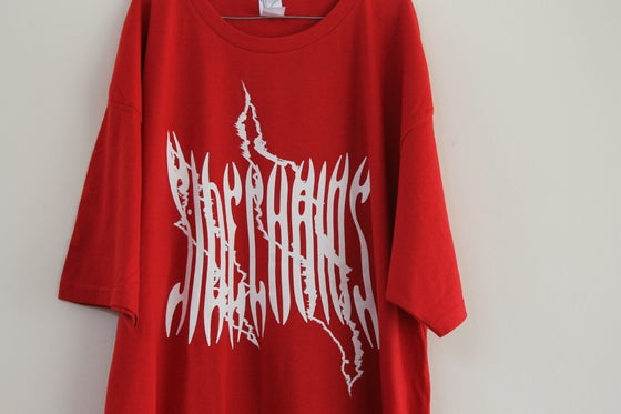 Image of Scratch Tee - Red