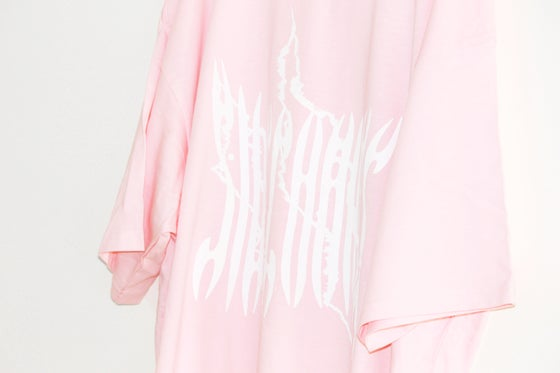 Image of Scratch Tee - Pink