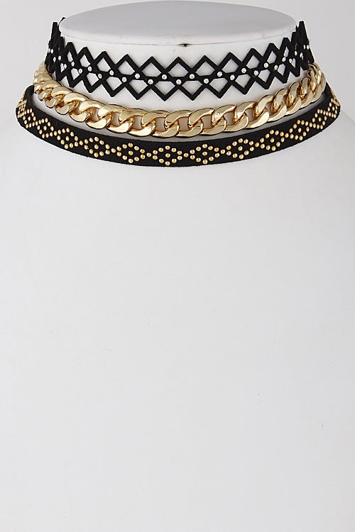 Image of Trio Pattern Choker