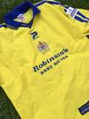 Match Worn 2000/01 Jonas Larsson Away Shirt