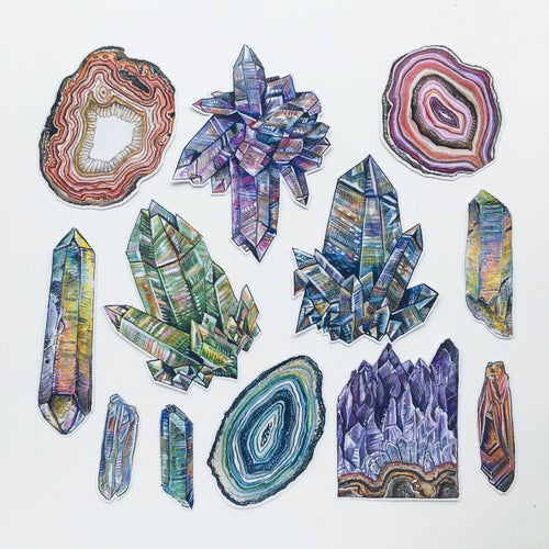 Image of Crystal Sticker Pack #1