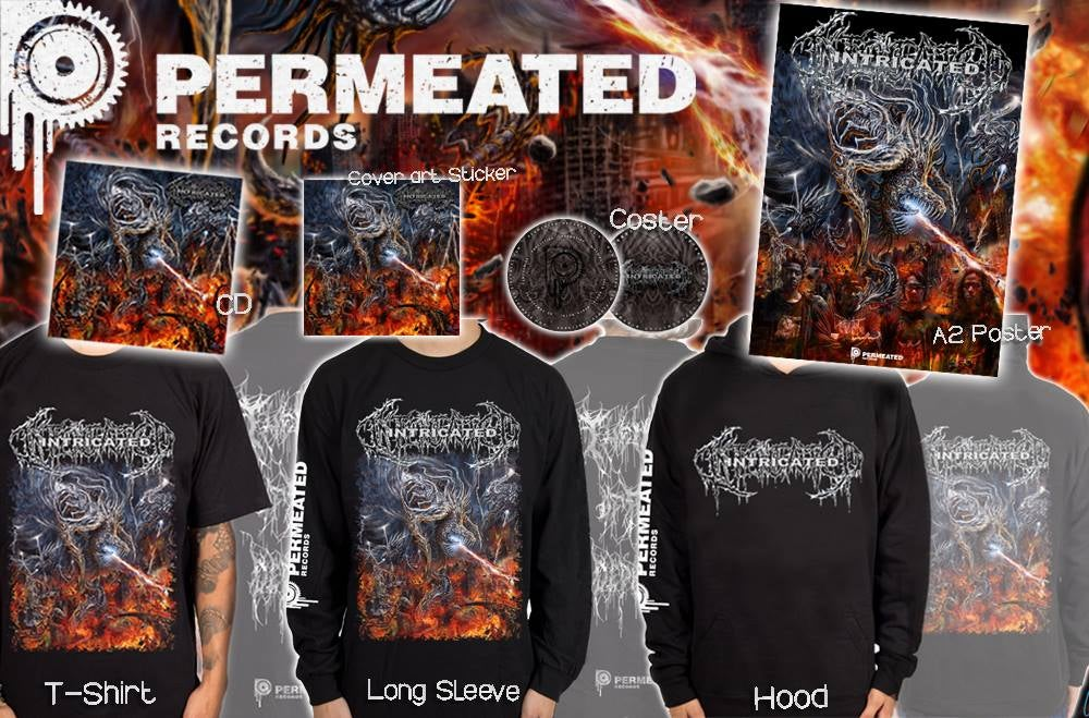 Image of Intricated - Vortex of Fatal Depravity - Complete Combo Pack