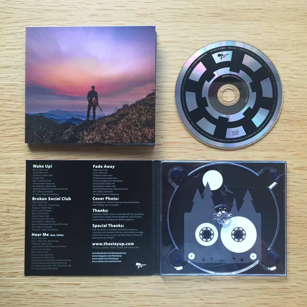 """Image of The Stay Up """"Wake Up"""" CD (2016)"""