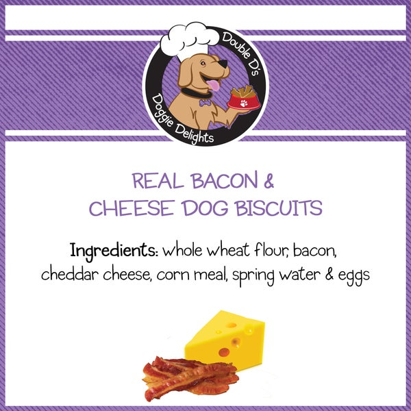 Image of Real Bacon & Cheese Dog Biscuits