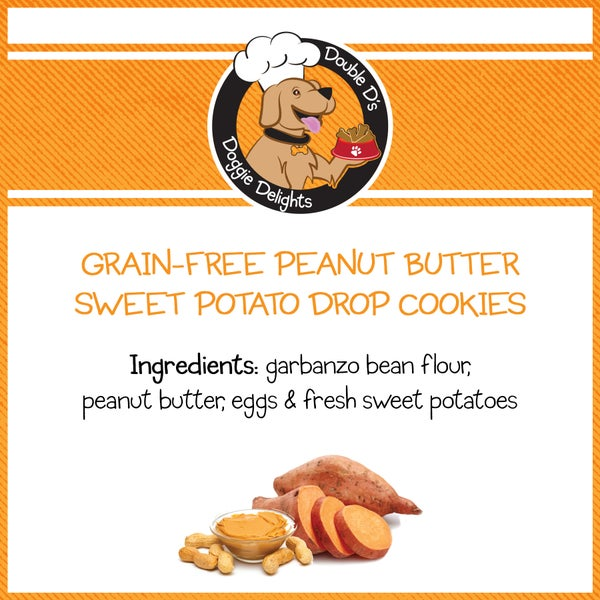 Image of Grain-Free Peanut Butter Sweet Potato Drop Cookies