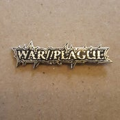 "Image of WAR//PLAGUE 2"" enamel pin"