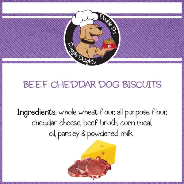 Image of Beef Cheddar Dog Biscuits
