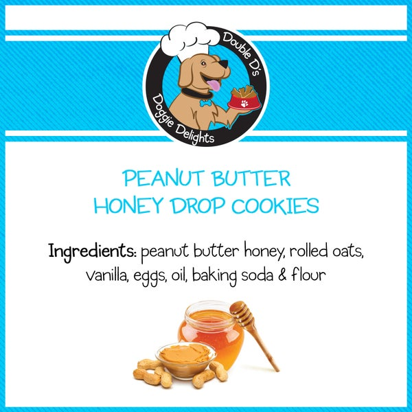 Image of Peanut Butter Honey Drop Cookies
