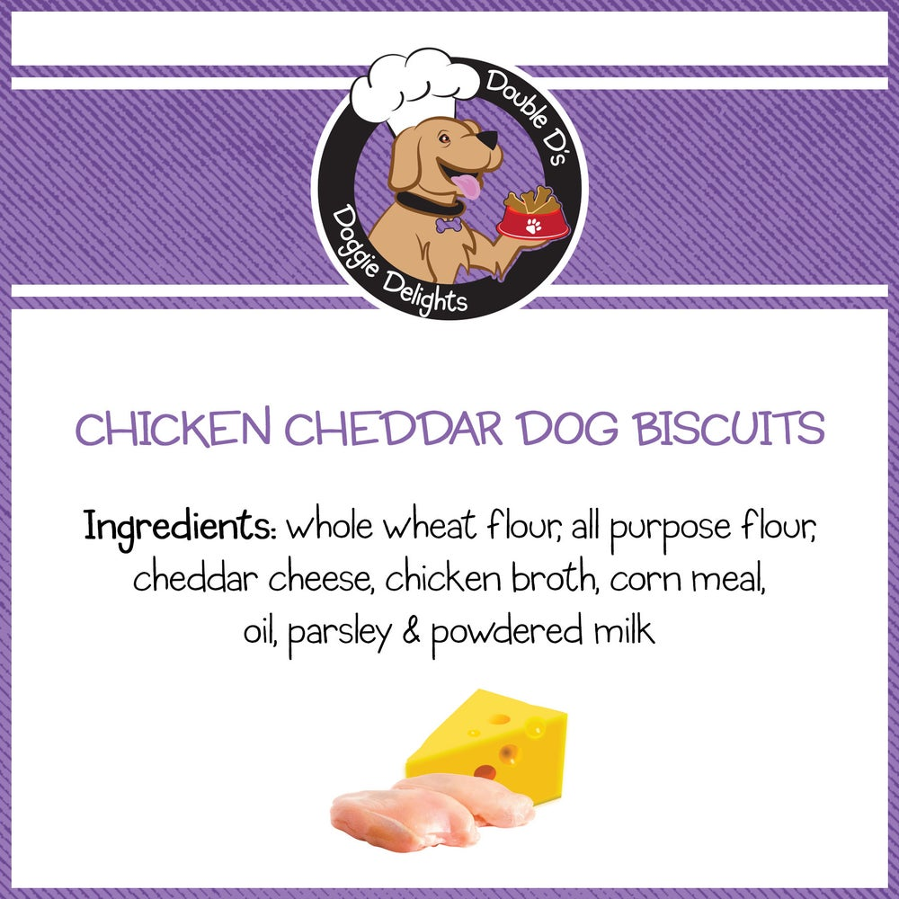 Image of Chicken Cheddar Dog Biscuits