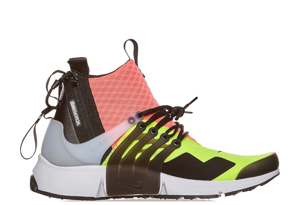 Image of NIKE (LAB) X ACRONYM AIR PRESTO HOT LAVA 844672-100