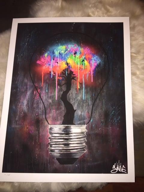 Image of The Bright Idea  Print Sage Barnes