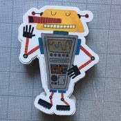 Image of robot sticker #03