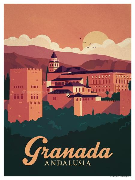 Image of Granada Poster