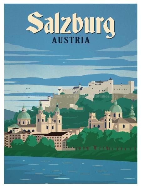 Image of Salzburg Poster