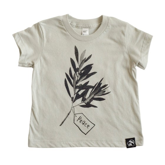 Image of PEACE babies' tee