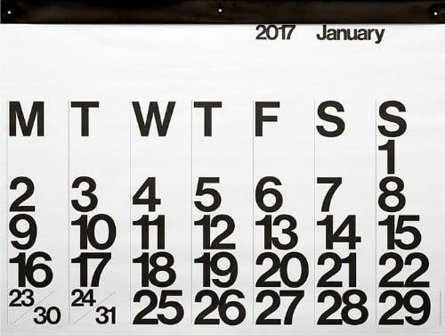 Image of Stendig Calendar 2017