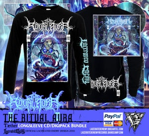 "Image of THE RITUAL AURA - ""Tæther"" Longsleeve Bundle"