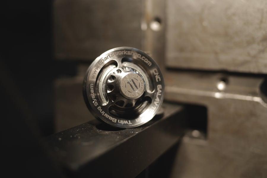 Image of Ti Parts Workshop Titanium Chain Tensioner Wheel