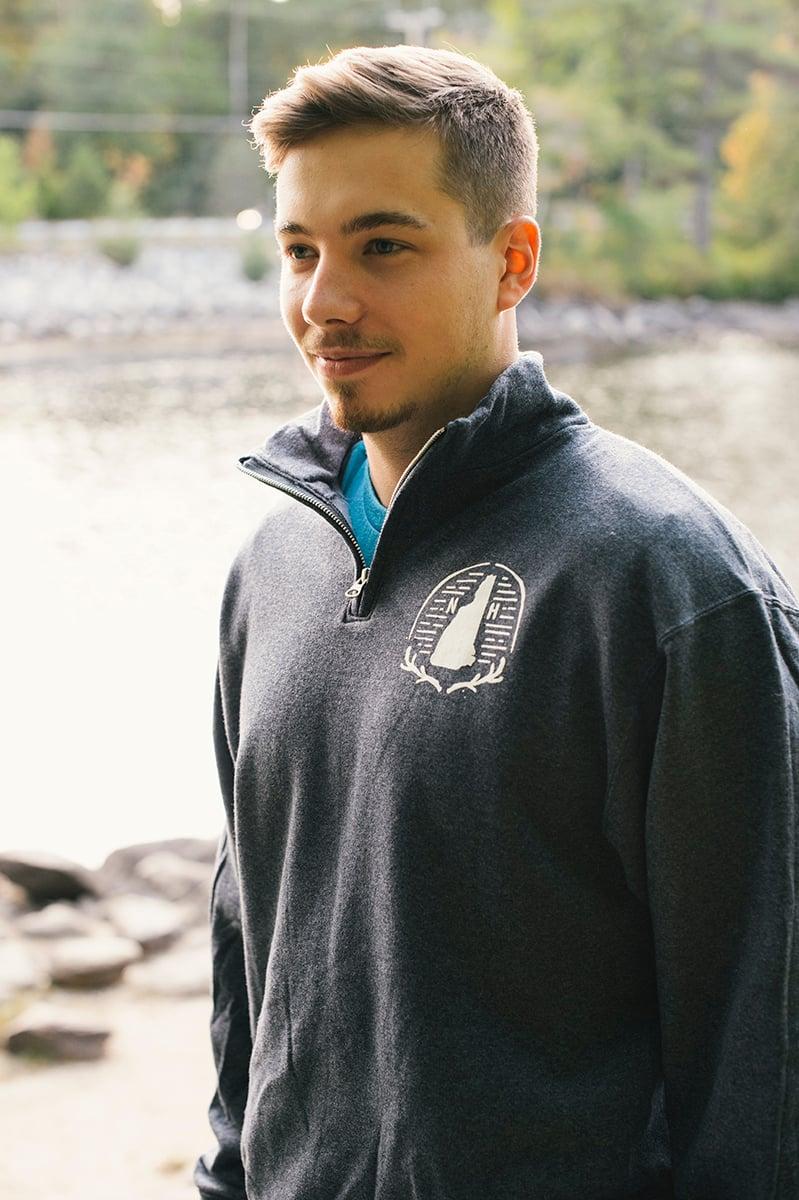 Image of Half Zip Crest