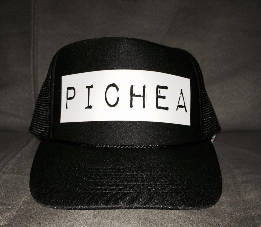 Image of Pichea Trucker Hat - Black