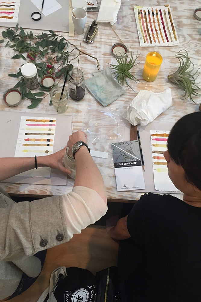 Natural Dyes 101 @ Sourced Collective Laguna Beach: Saturday, October 21, 2017 12p- 4p