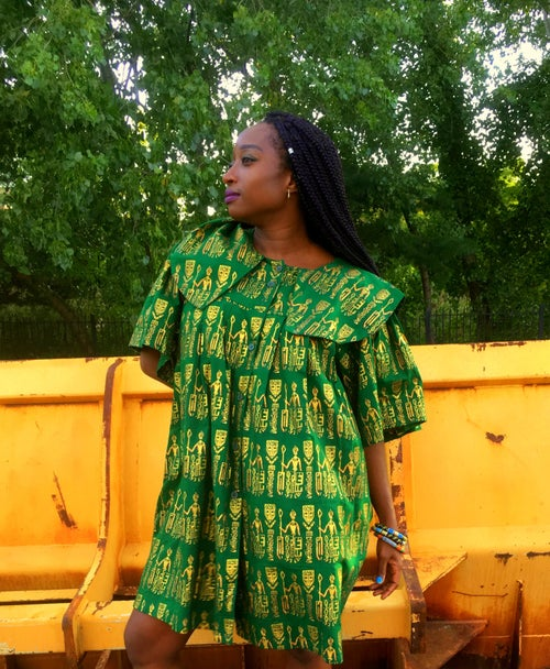 Image of African Mini Dress