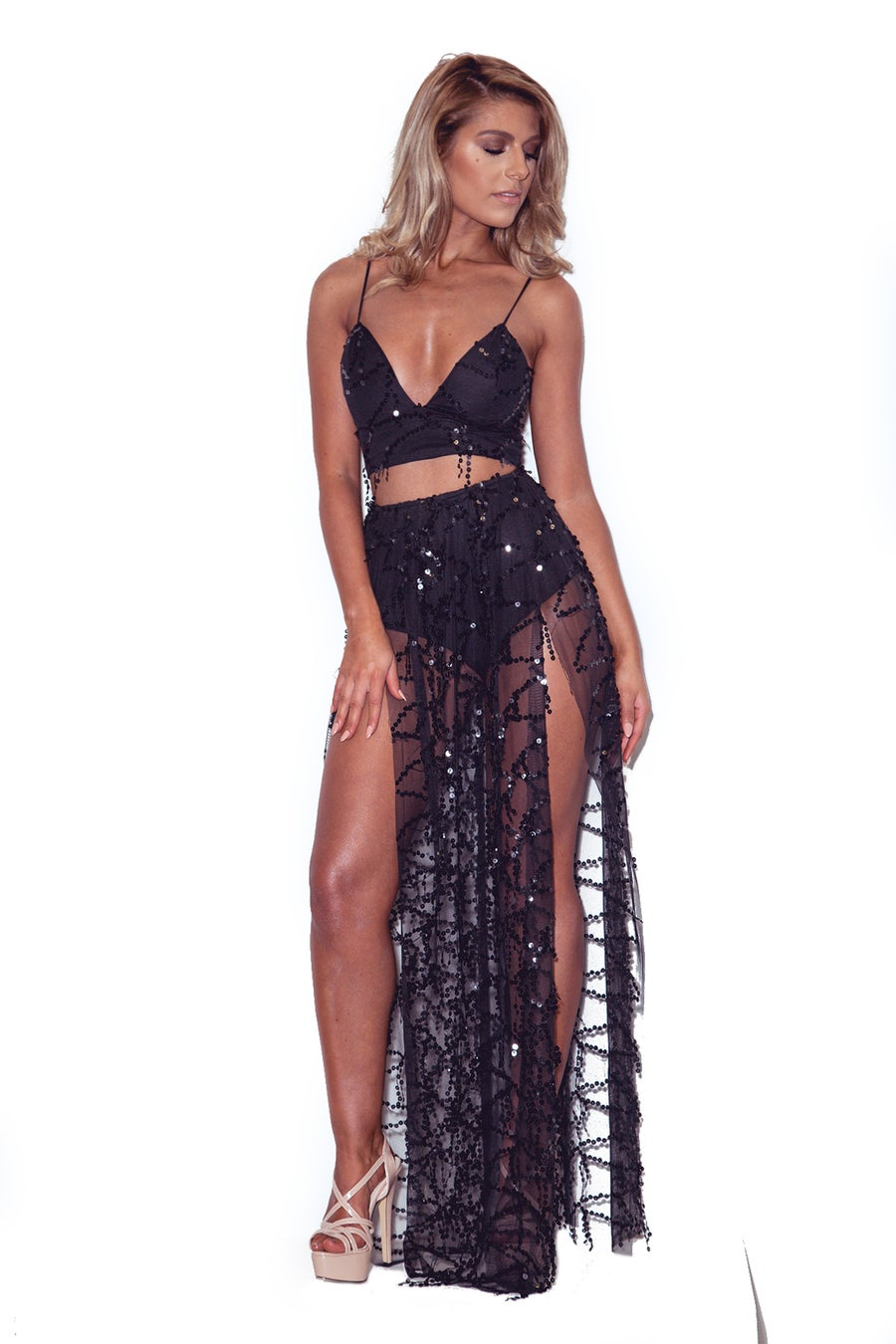 Image of 'Moondust' Maxi Two piece (60% off)